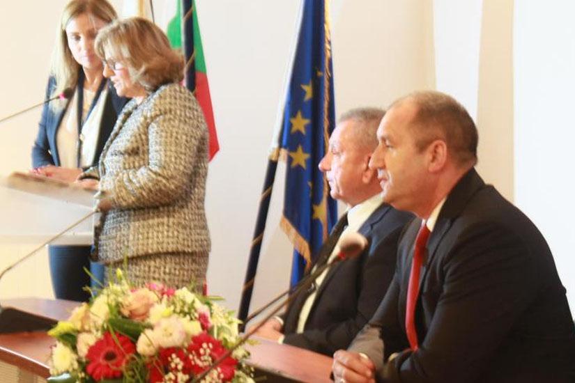 Δημαρχείο Λακατάμιας ο Πρόεδρος της Βουλγαρίας