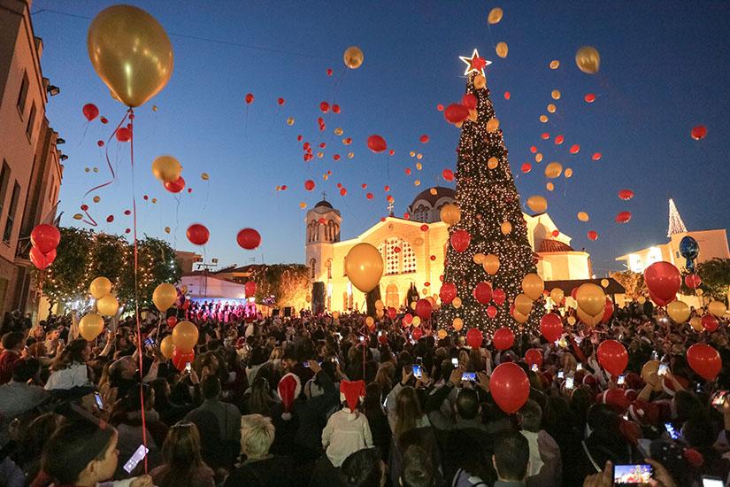 Χριστουγεννιάτικη Εκδήλωση στο Δήμο Αραδίππου