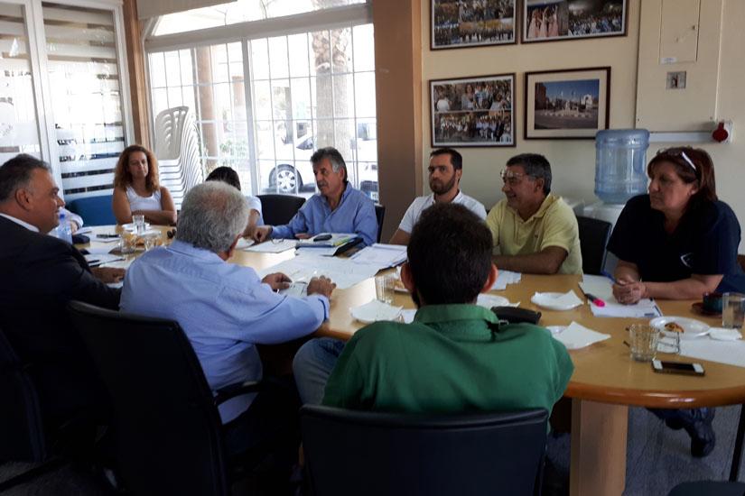 Συνάντηση Δημάρχου Γερίου με βιομήχανους