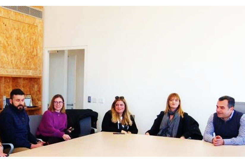 Δήμαρχος Λευκωσίας και Ευρωπαίοι εταίροι