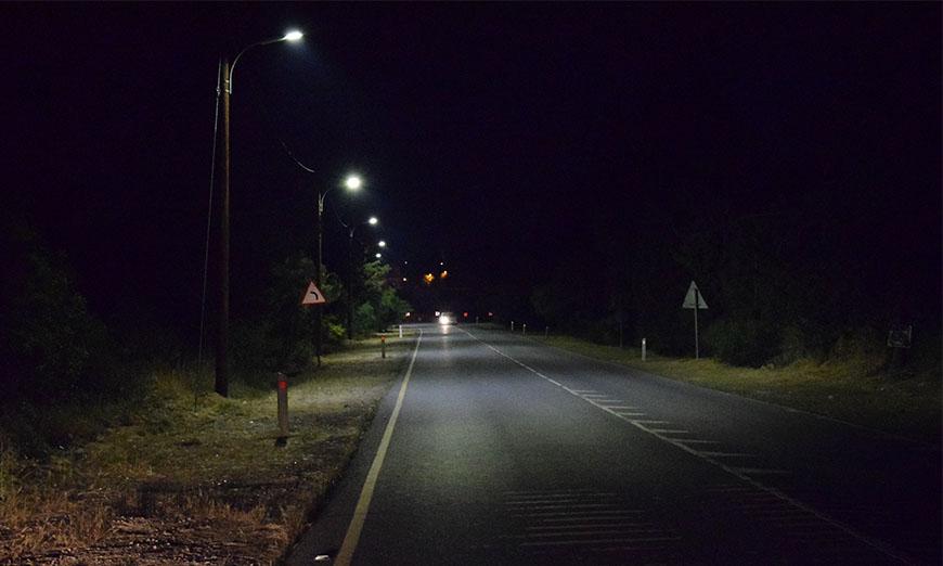 Δ. Γερίου: Τέλος το σκοτάδι στη Λεωφόρο Αθαλάσσης