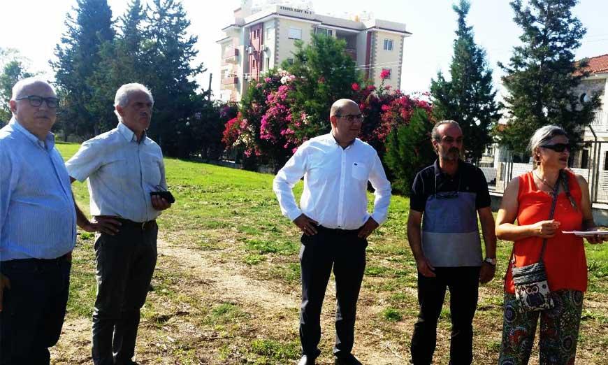 Ο Δήμαρχος Λάρνακας σε σχολεία για καταγραφή προβλημάτων