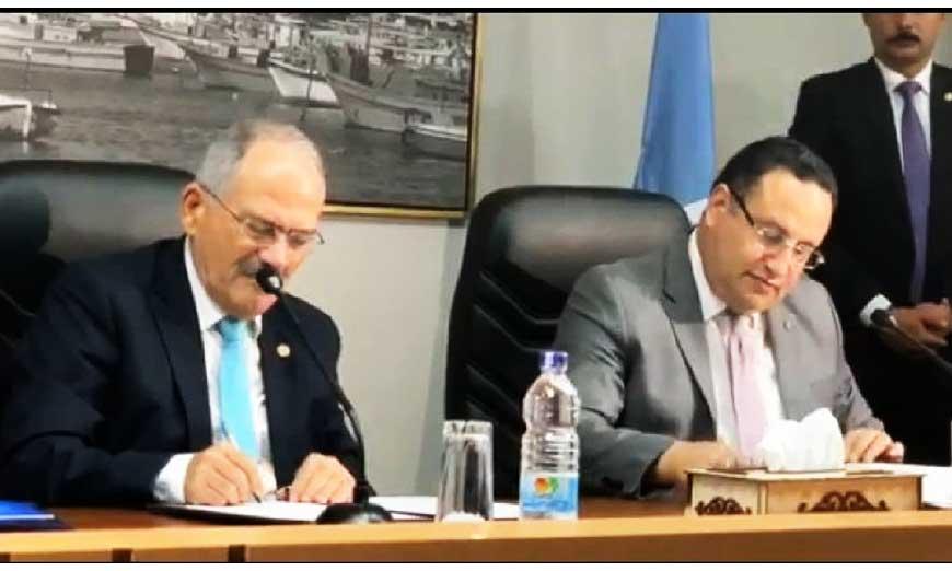 Πολυεπίπεδες επαφές και συμφωνίες μεταξύ Λεμεσού-Αλεξάνδρειας