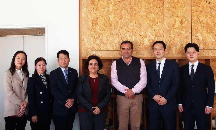 Συνάντηση αντιπροσωπείας Υπουργείου Δικαιοσύνης Κορέας - Δημάρχου Λευκωσίας