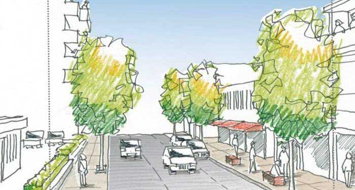νέο σχεδιασμό της οδού Τσερίου στον Στρόβολο