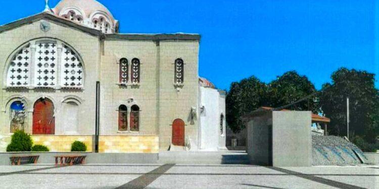 Πλατείας Αποστόλου Λουκά στην Αραδίππου