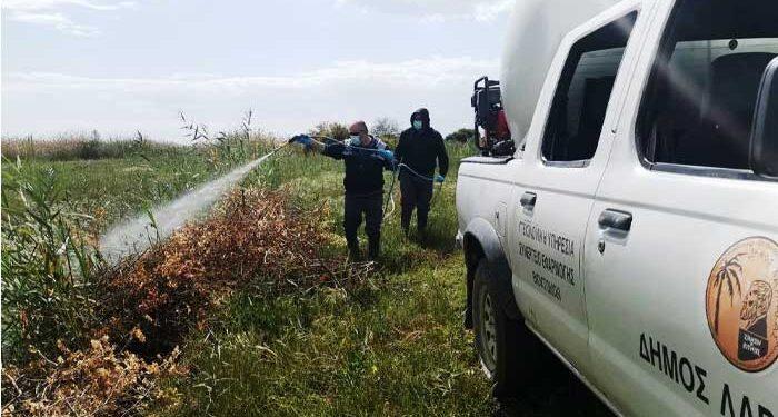 Συνερίζονται οι ψεκασμοί κατά των κουνουπιών στη Λάρνακα