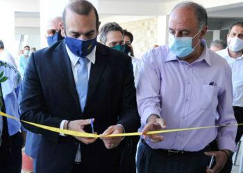 Εγκαινιάστηκε το Κέντρο Πολίτη στα Λεύκαρα